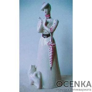 "Статуэтка ""Дама с собачкой"" (А. П. Чехов)"