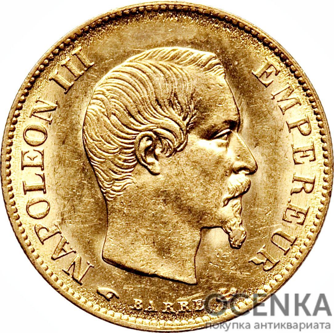 Золотая монета 10 Франков (10 Francs) Франция - 3