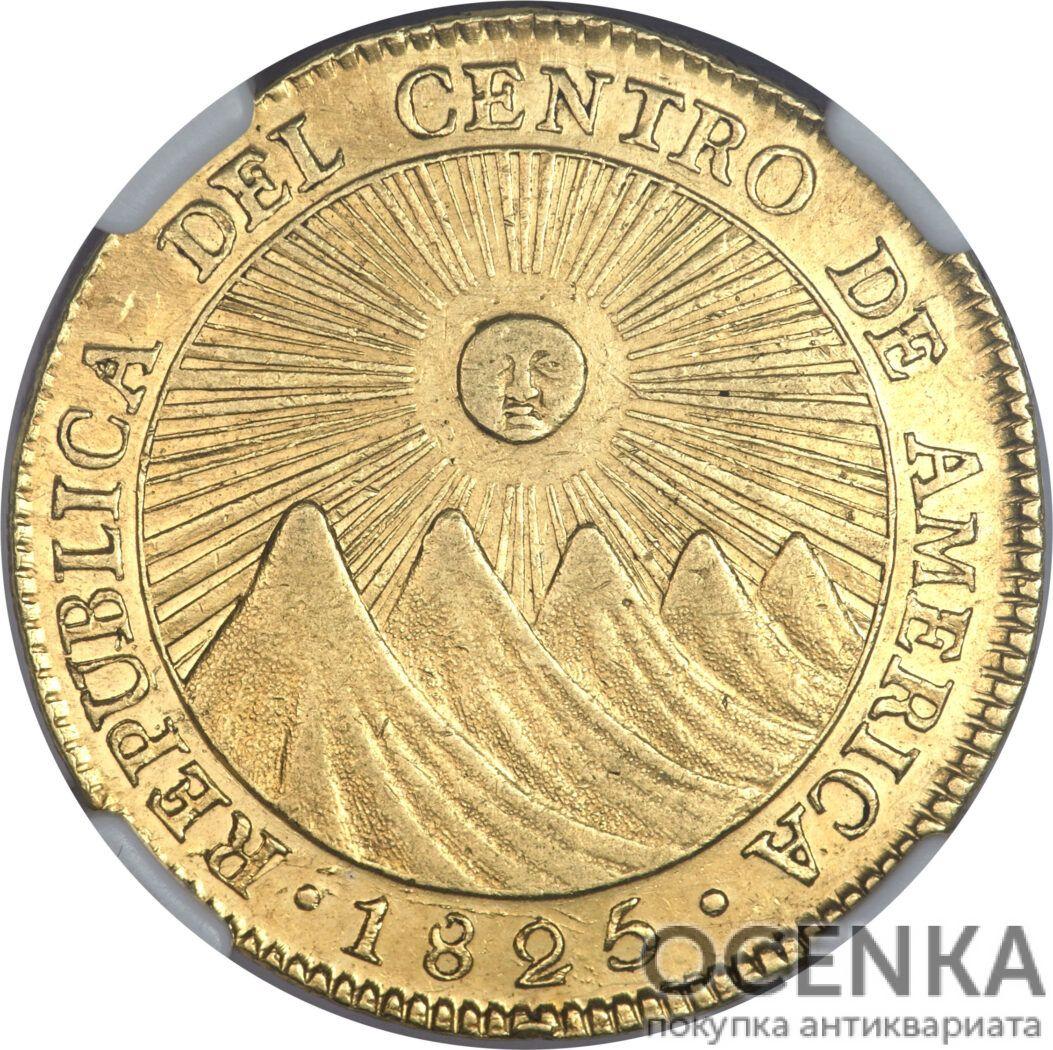 Золотая монета 4 Эскудо (4 Escudos) ЦАР - 3