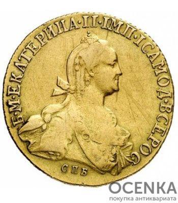 10 рублей 1775 года Екатерина 2 - 1