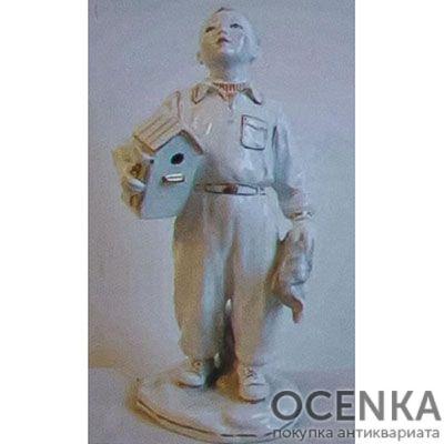 Статуэтка Мальчик со скворечником