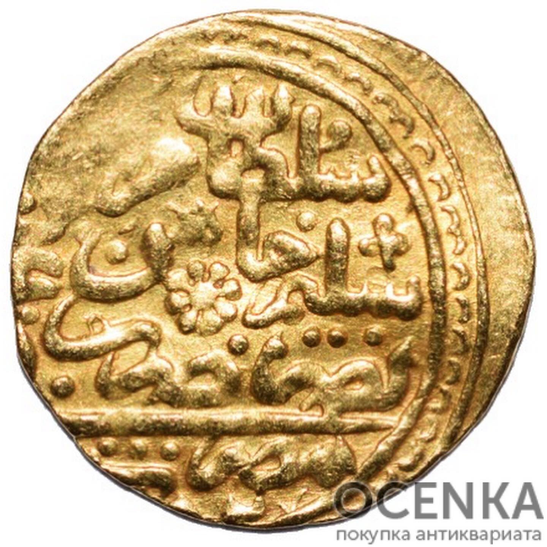 Золотая монета 1 Султани (1 Sultani) Египет - 3