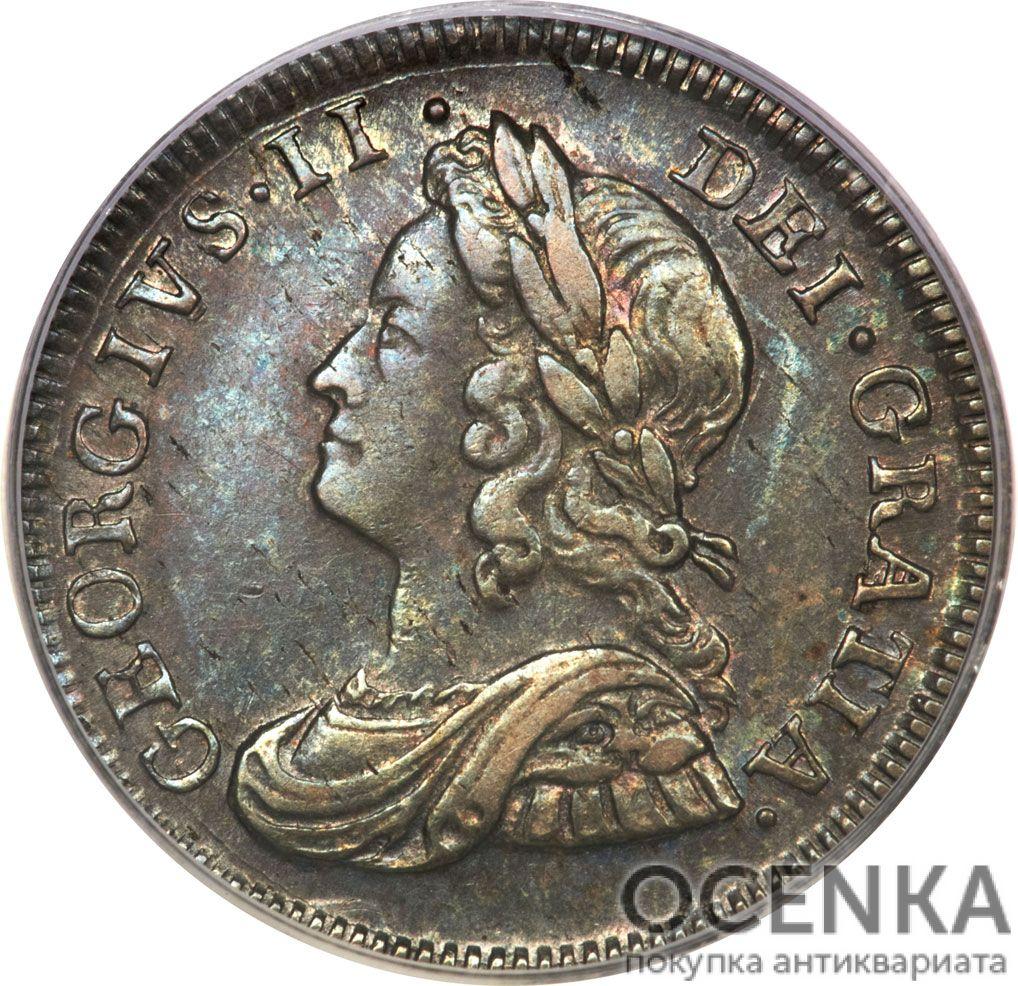 Серебряная монета 4 Пенса (4 Pence) Великобритания - 1
