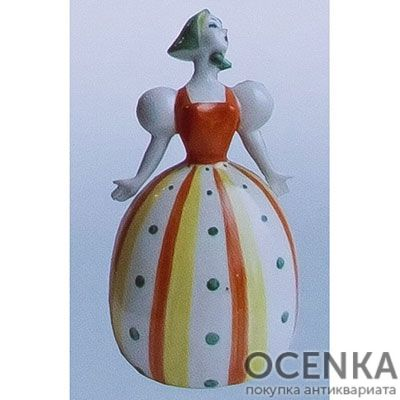 Статуэтка Девушка с платочком