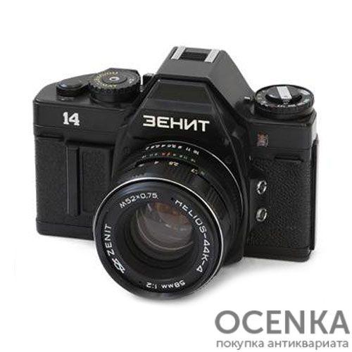 Фотоаппарат Зенит-14 КМЗ 1987-1990 год