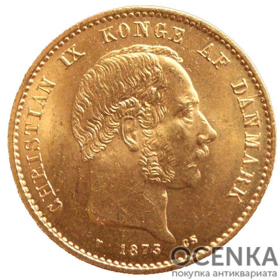 Золотая монета 20 Крон (20 Kroner) Дания - 1