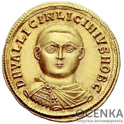 Золотой ауреус, Валерий Лициниан Лициний, 317-324 год