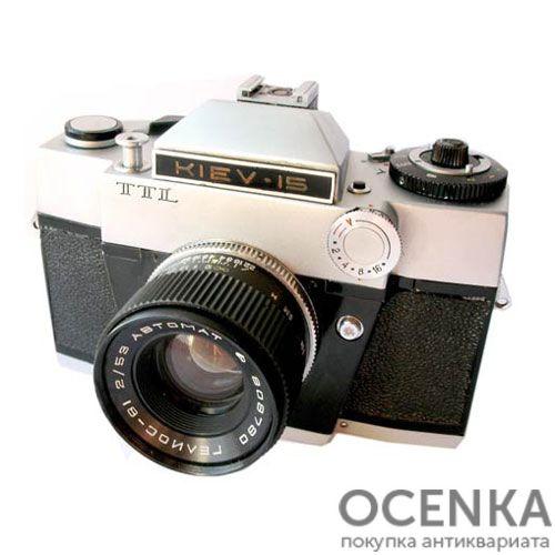 Фотоаппарат Киев-15 TTL Арсенал 1980 год
