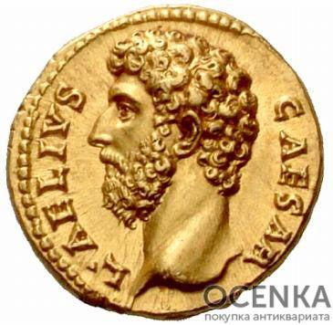 Золотой ауреус, Цезарь Публий Элий Траян Адриан Август, 136-138 год
