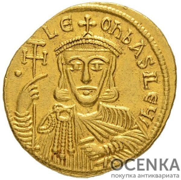 Золотой солид Византии, Лев V Армянин, 813-820 год