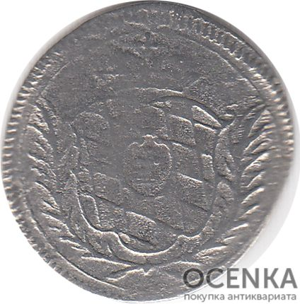 Серебряная монета 10 Пфеннигов (10 Pfennig) Германия - 1
