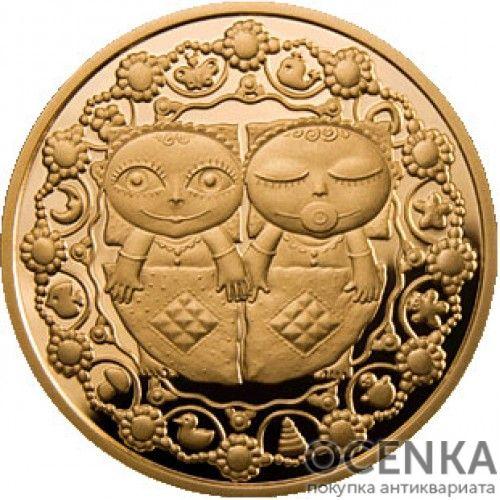 Золотая монета 100 рублей Белоруссии - 2