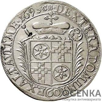 Серебряная монета 60 Крейцеров (60 Kreuzer) Германия - 4