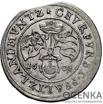 Серебряная монета ¼ Гульдена (¼ Gulden) Германия