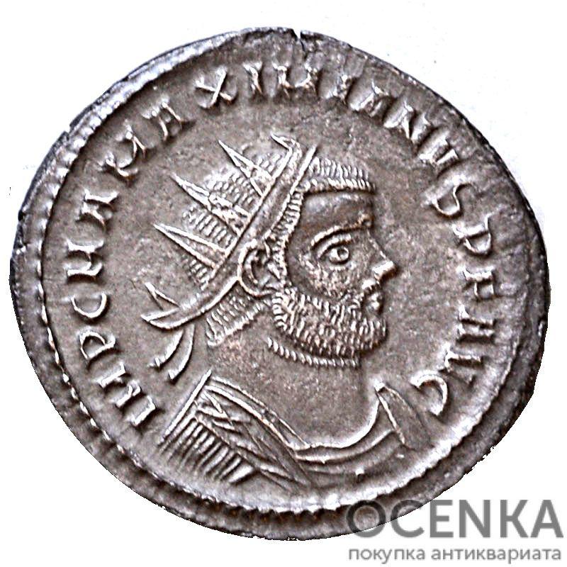 Серебряный Антониниан Марка Аврелия Валерия Максимиана Геркулия, 286-310 год