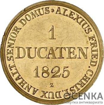 Золотая монета 1 Дукат Германия - 4