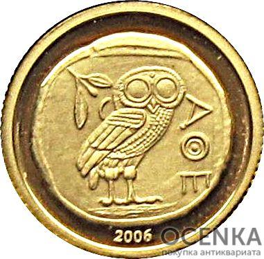 Золотая монета 10 Франков (10 Francs) Конго - 3