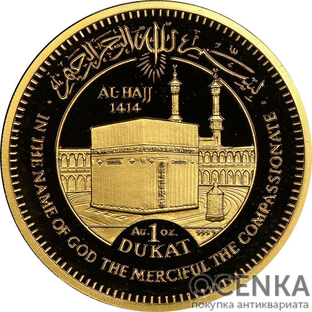 Золотая монета 1 Дукат (1 Dukat) Босния и Герцеговина