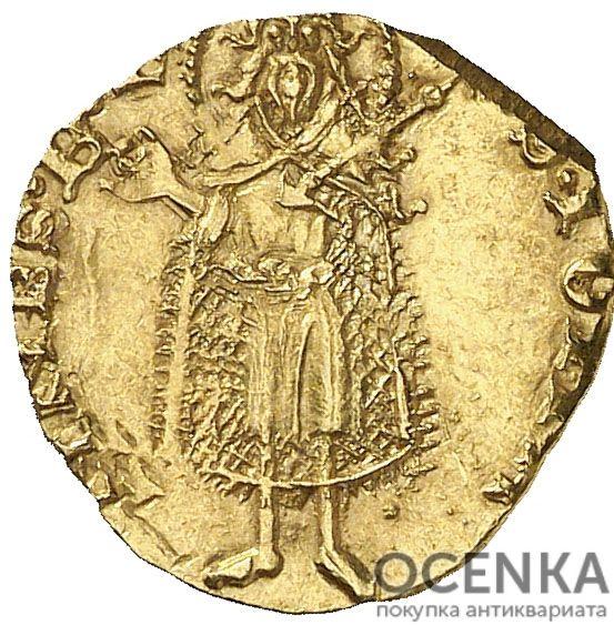 Золотая монета ½ Флорина (½ Florin) Испания - 5
