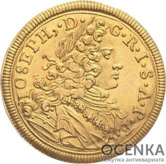 Золотая монета 1 Дукат Германия - 9