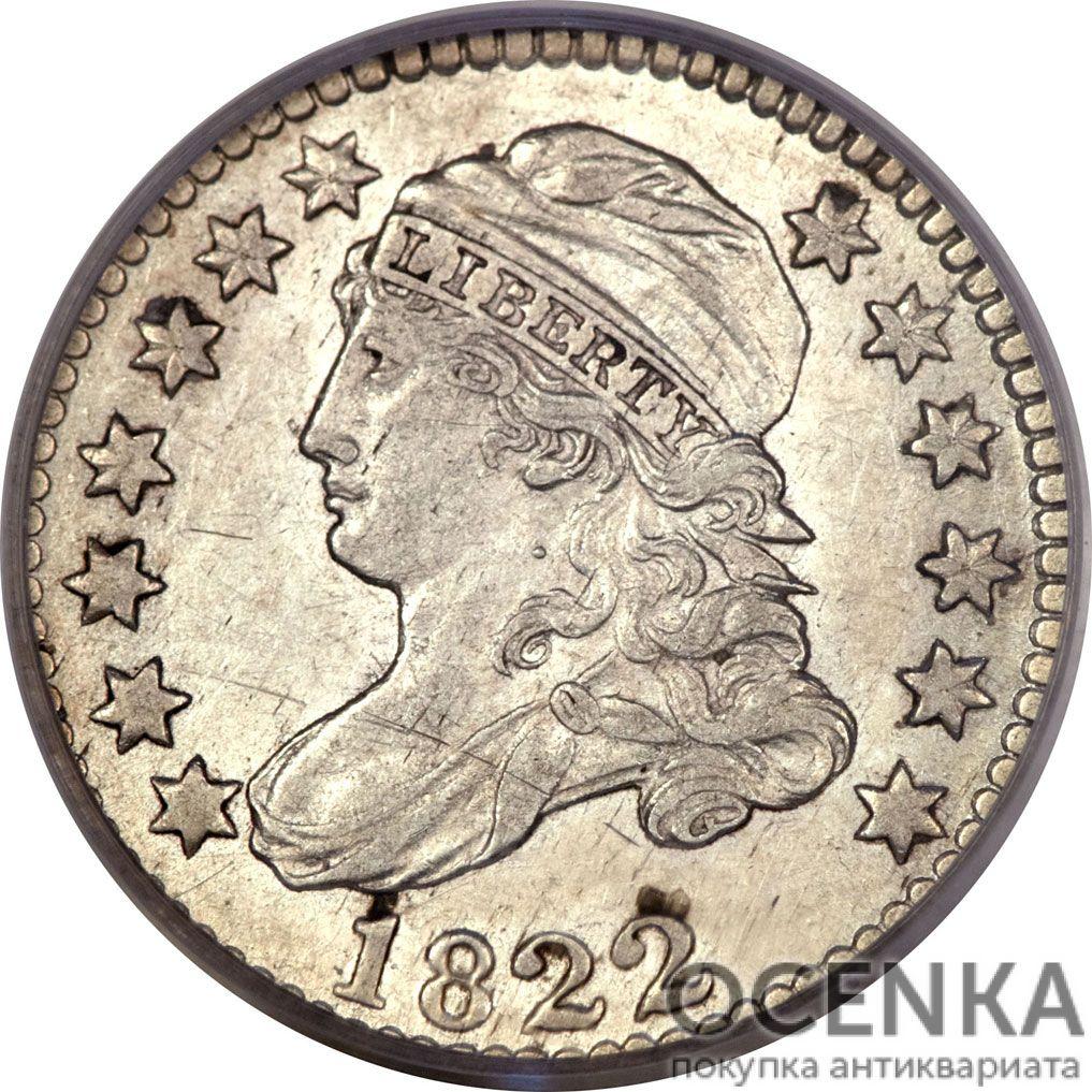 Серебряная монета 10 центов (1 Dime, 10 Cents) США - 1