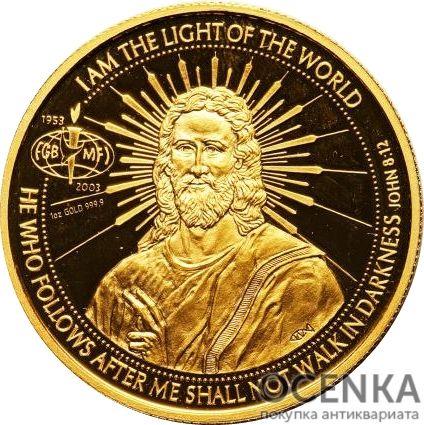 Золотая монета 50 Долларов Островов Кука - 1