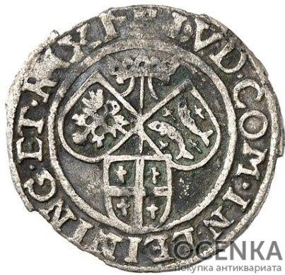 Серебряная монета 8 Пфеннигов (8 Pfennig) Германия - 3