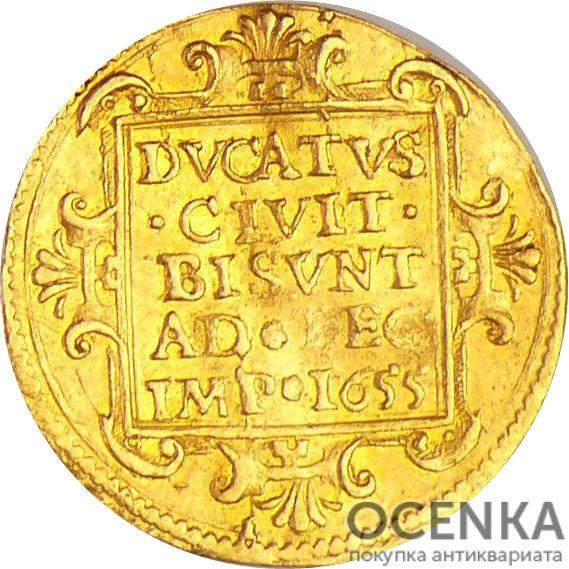 Золотая монета ½ Дуката (½ Ducat) Франция - 1
