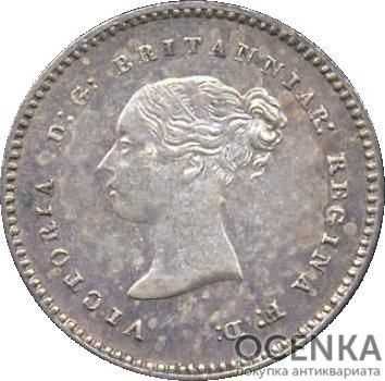 Серебряная монета 2 Пенса (2 Pence) Великобритания - 5