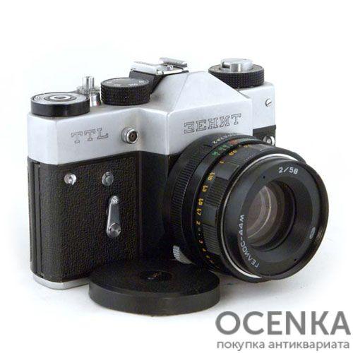 Фотоаппарат Зенит-TTL БелОМО 1977-1985 год