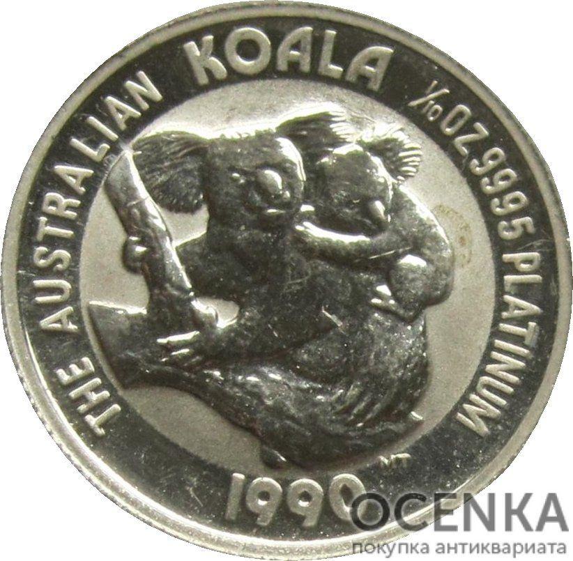 Платиновая монета 15 долларов Австралии - 1