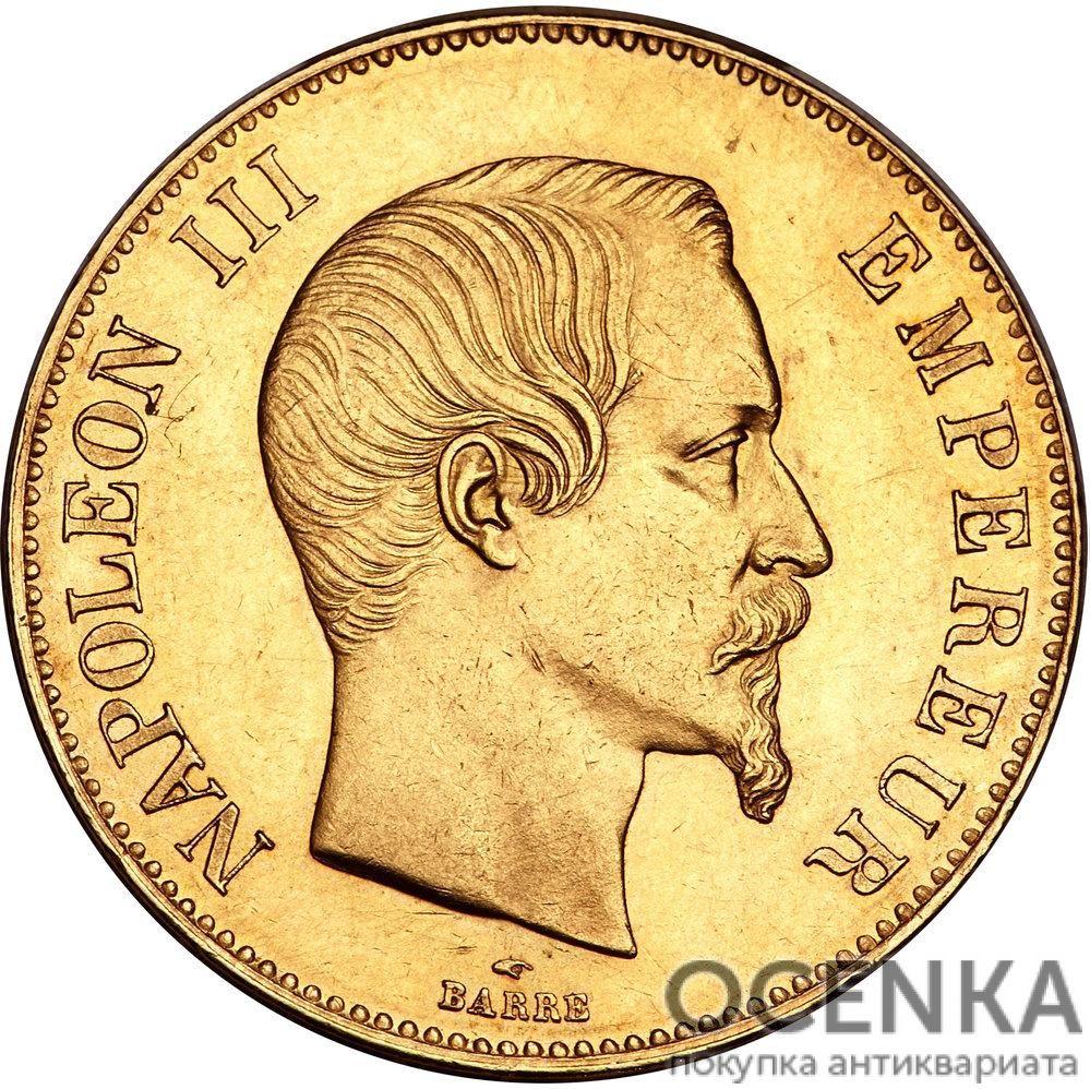 Золотая монета 100 Франков (100 Francs) Франция - 1