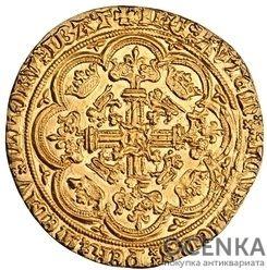 Золотая монета 1 Noble (нобль) Великобритания - 3