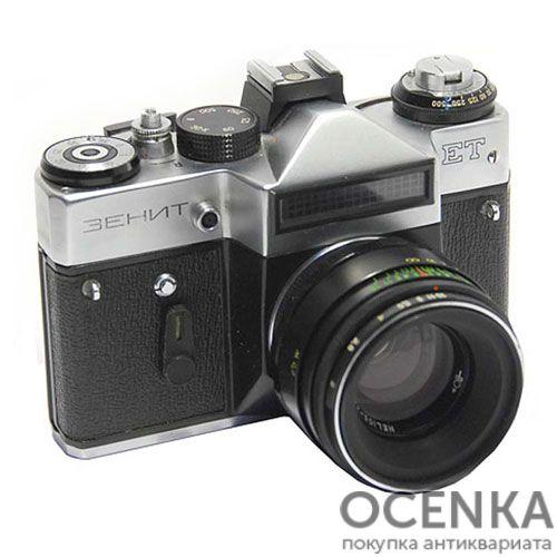 Фотоаппарат Зенит-ЕТ БелОМО 1982-1990-е годы