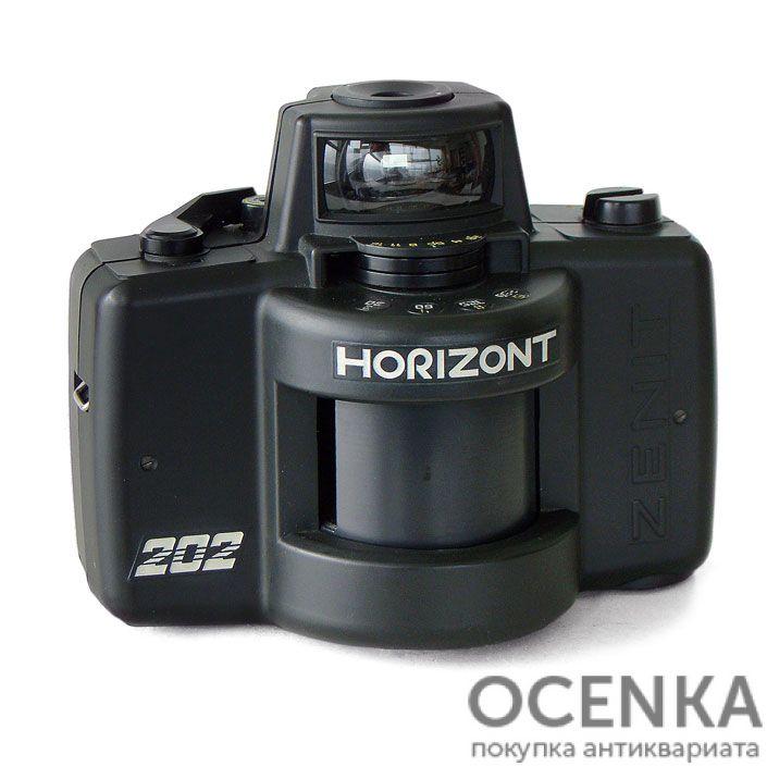 Фотоаппарат Горизонт-202 КМЗ 1989-1992 год