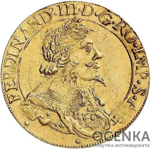 Золотая монета 2 Дуката (2 Ducats) Франция - 1