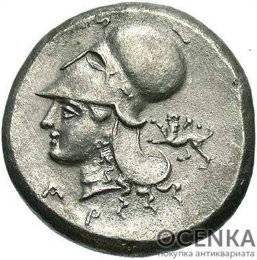 Серебряная монета Статер Древней Греции - 3