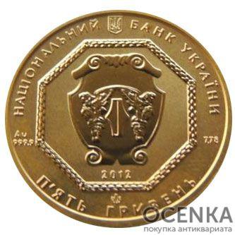 5 гривен 2012 год Архистратиг Михаил