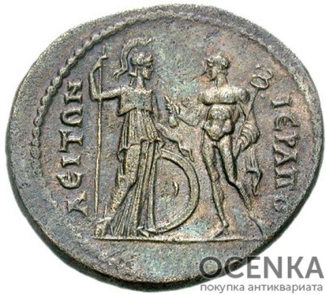 Медная монета AE 32 древнего Рима - 1