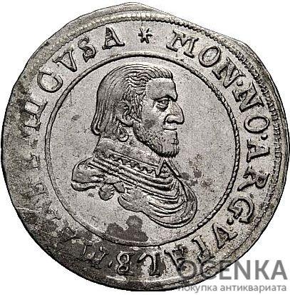 Серебряная монета ¼ Гульдена (¼ Gulden) Германия - 1
