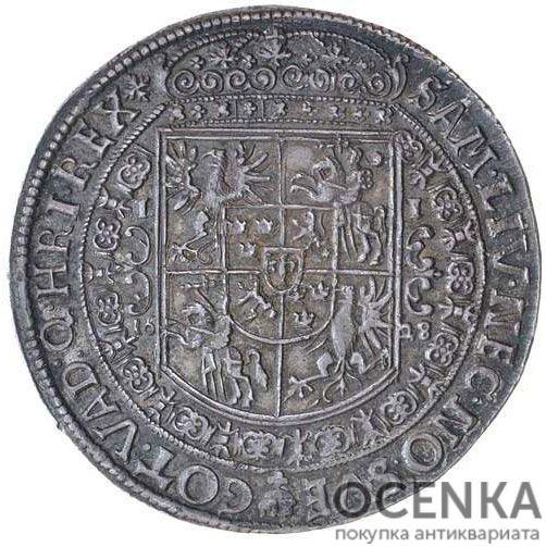 Серебряная монета Талер Средневековой Польши - 1