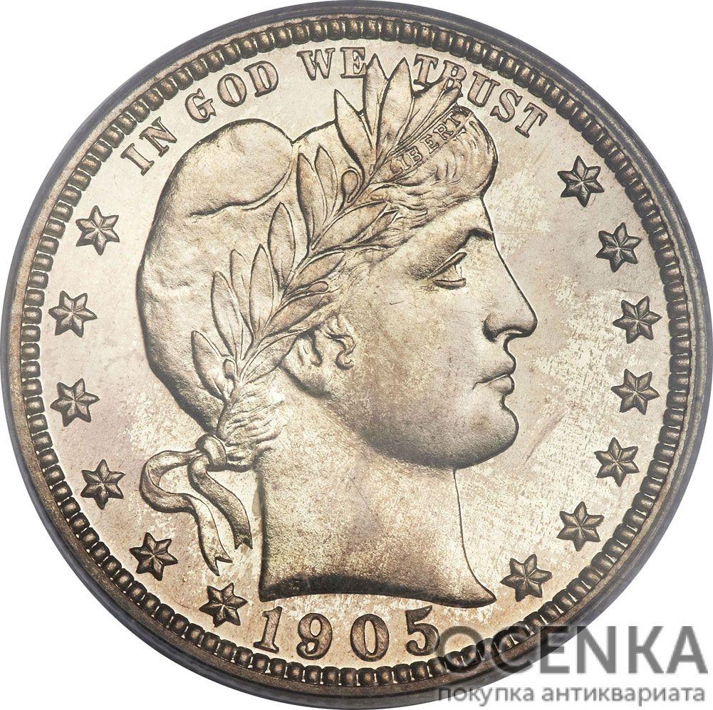 Серебряная монета ¼ Доллара (Quarter Dollar) США - 3