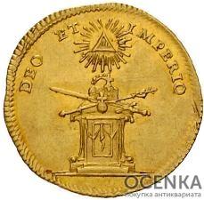 Золотая монета ¾ Дуката Германия - 2