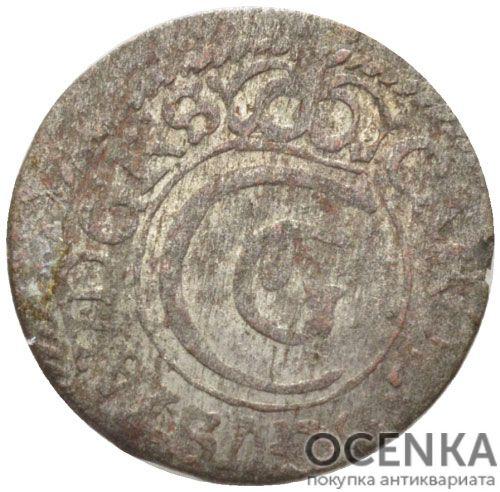Серебряная монета Солид Средневековой Литвы - 1