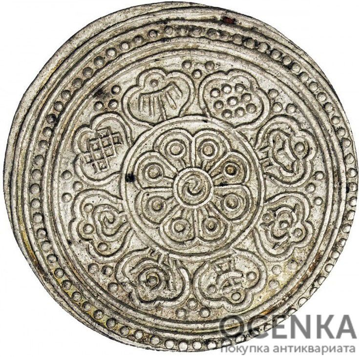 Серебряная монета 1 Тангка (1 Tangka) Китай - 1
