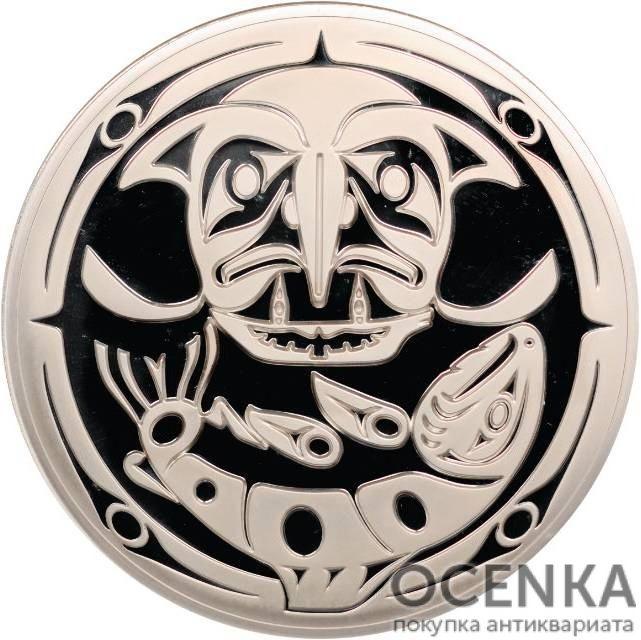 Серебряная монета 250 Долларов Канады - 2