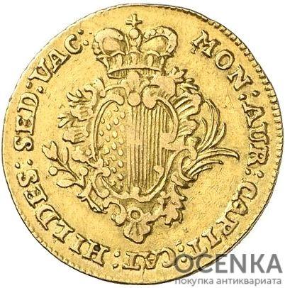 Золотая монета ½ Пистоля Германия - 1