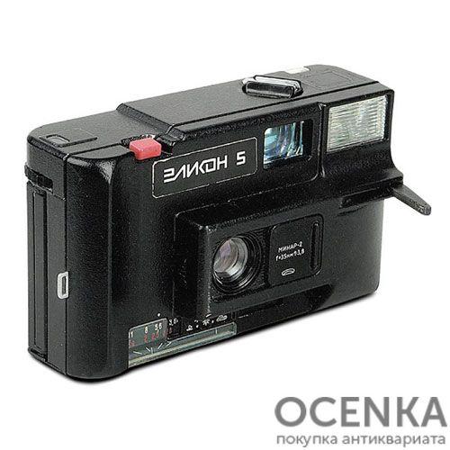 Фотоаппарат Эликон-5 БелОМО 1989 год