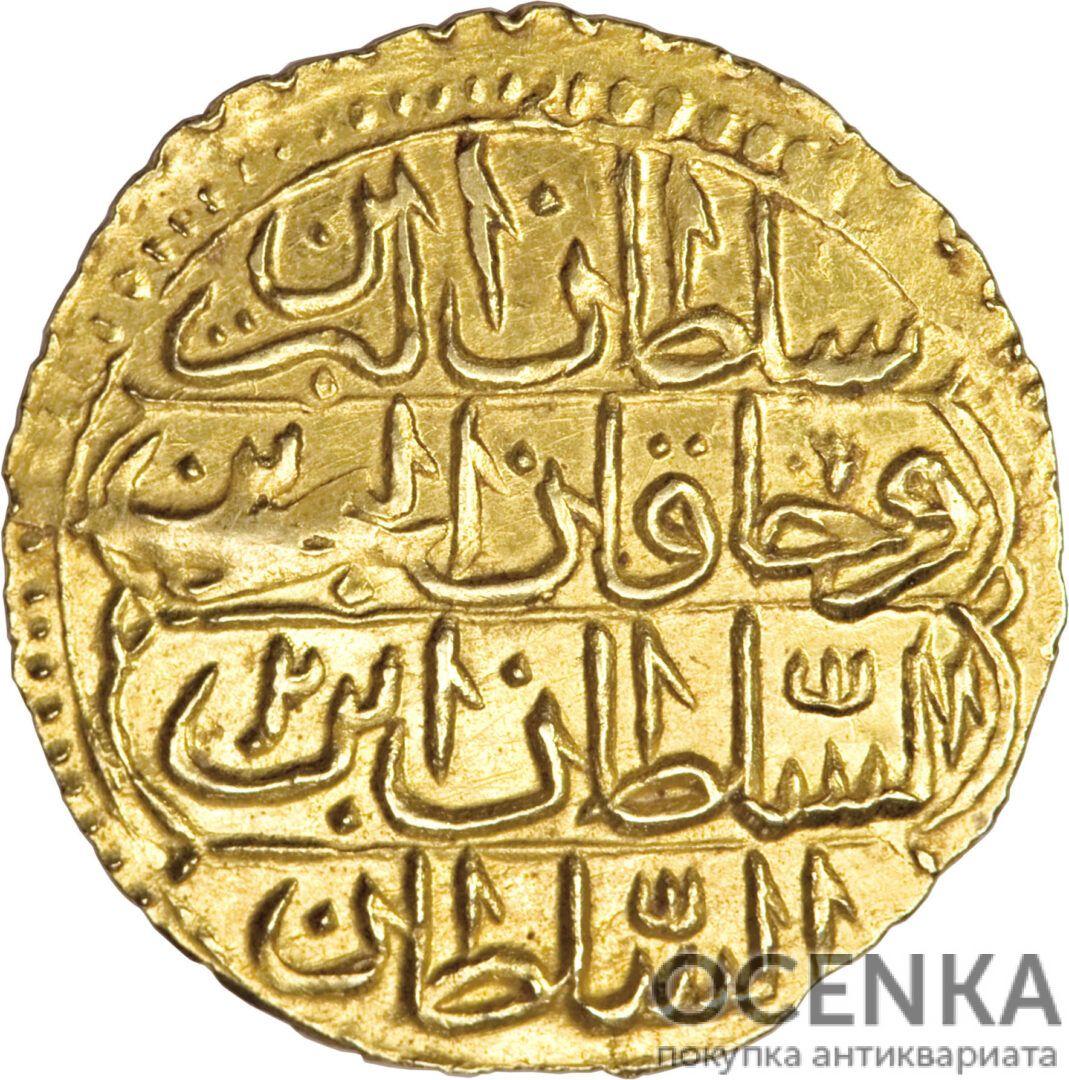Золотая монета 1 Зери-Махбуб (1 Zeri Mahbub) Египет
