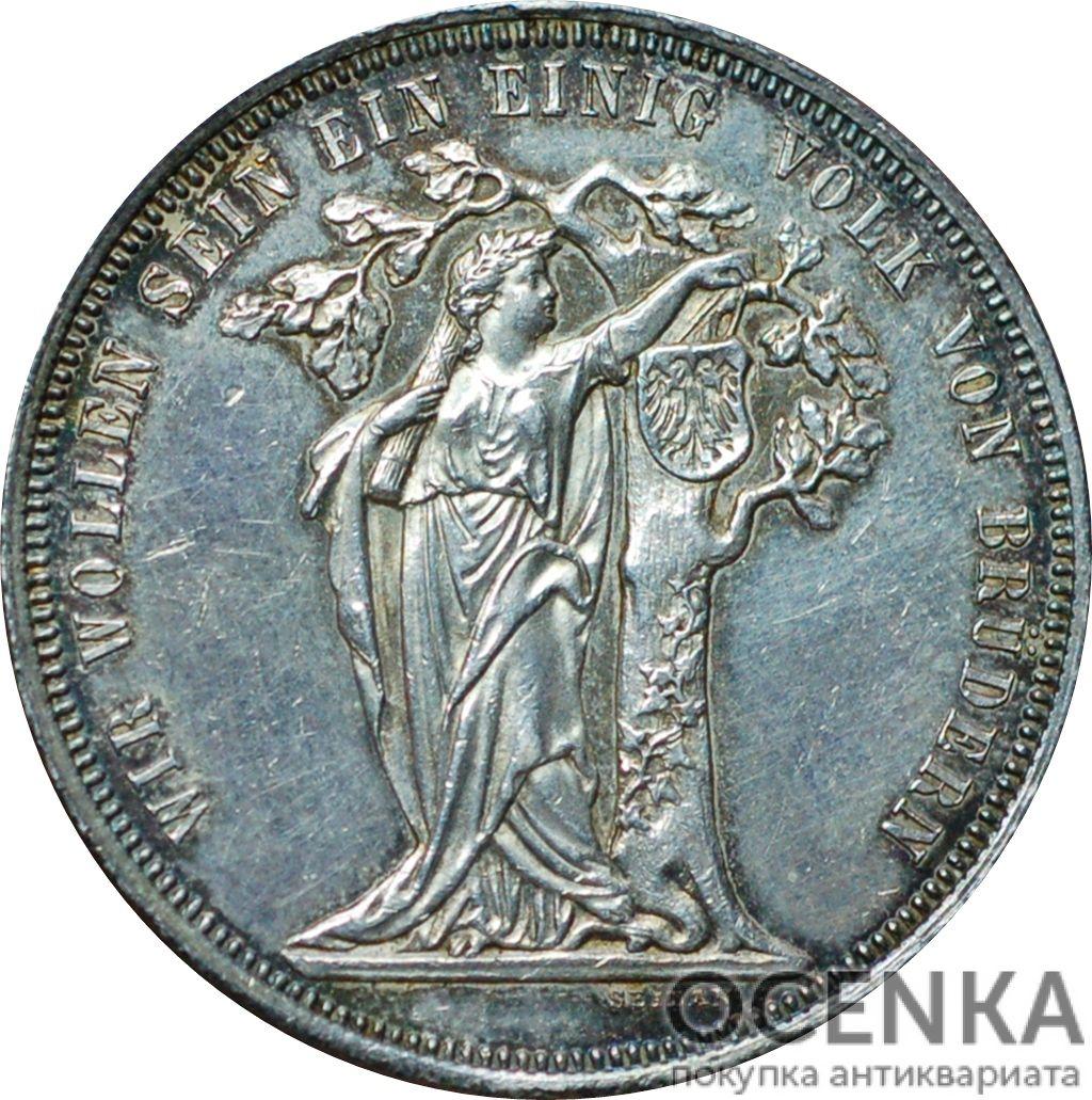 Серебряная монета 1 Талер (1 Thaler) Австро-Венгрия - 1